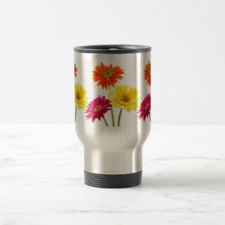 Gerbera Daisies Stainless Steel Travel Mug