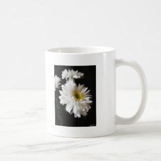 Gerbera Daisy 10 Basic White Mug