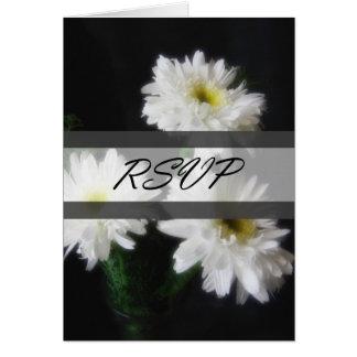 Gerbera Daisy 11 RSVP Wedding Card