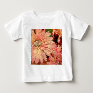 Gerbera Daisy Abstract Baby T-Shirt