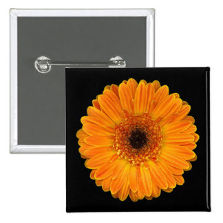 Gerbera Daisy 15 Cm Square Badge