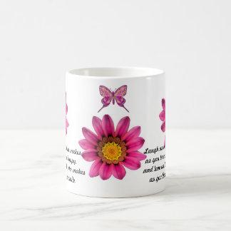 Gerbera Daisy Basic White Mug