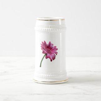 Gerbera Daisy Beer Stein Mug