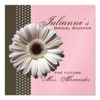 Gerbera Daisy/ Bridal Shower Card