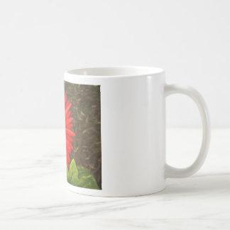 Gerbera Daisy by Patrick Kelly Basic White Mug