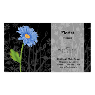 Gerbera Daisy * choose background color Pack Of Standard Business Cards