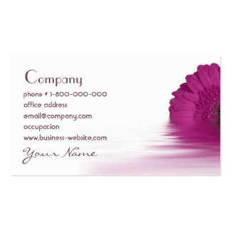 Gerbera Daisy Floral Business Card