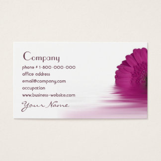 Gerbera Daisy Floral Business Card