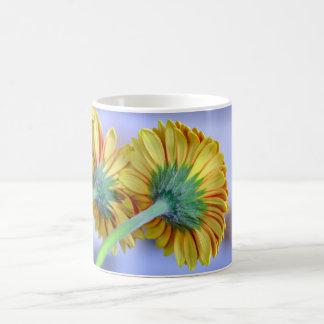 gerbera daisy flower basic white mug