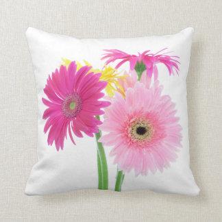 Gerbera Daisy Flowers Cushion