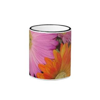 Gerbera Daisy Garden Ringer Mug