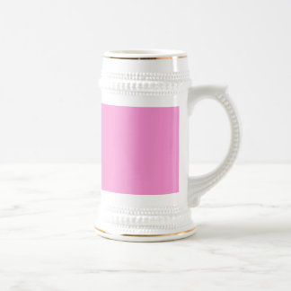 Gerbera Daisy - Light Pink Background. Chic Color Beer Steins