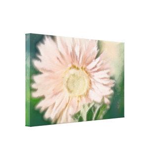 Gerbera Daisy Pastel Canvas Print