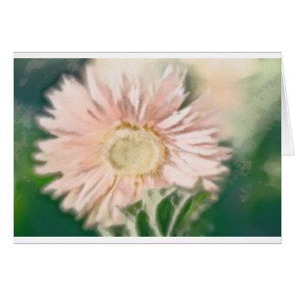 Gerbera Daisy Pastel Card
