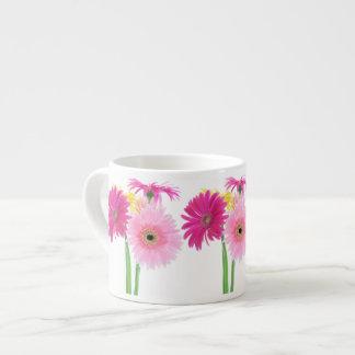 Gerbera Daisy Piink Flowers Espresso Mug