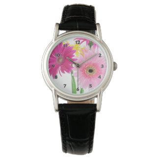 Gerbera Daisy Pink Watch