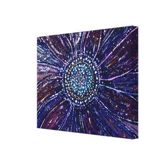 Gerbera Daisy Sparkle Canvas Print