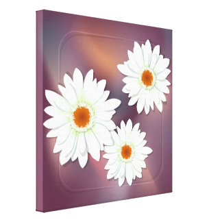 Gerbera Flower Gallery Wrapped Canvas