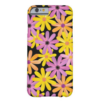 Gerbera flowers pattern, background barely there iPhone 6 case