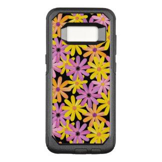 Gerbera flowers pattern, background OtterBox commuter samsung galaxy s8 case