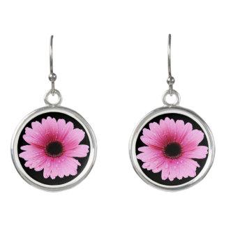 Gerbera Pink - Daisy Earrings
