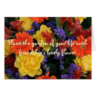 Gerbera Rose Bouquet, Plant the garden Card