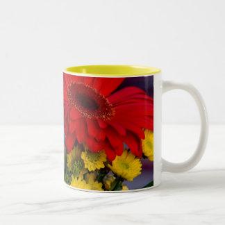 Gerbera's #19 - 2-tone mug