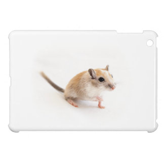 Gerbil Cute Baby Animal Pet Gerbils Template iPad Mini Case