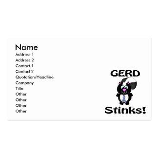 GERD Stinks Skunk Awareness Design Pack Of Standard Business Cards