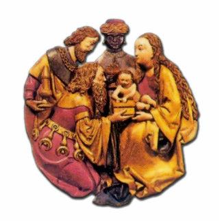 German -Adoration of the Magi - Ornament Sculpture Photo Sculpture Decoration