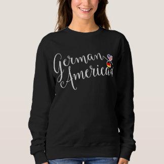 German American Entwinted Hearts Sweatshirt