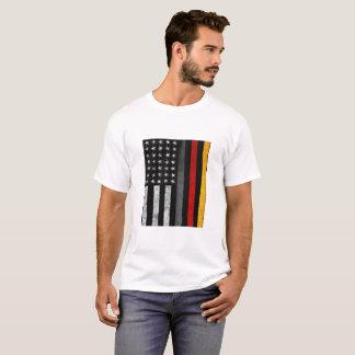 German American Flag Mix T-Shirt