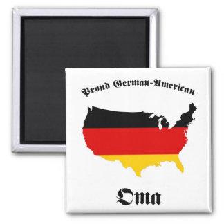 German American Oma - Granny - Grandmother Magnet