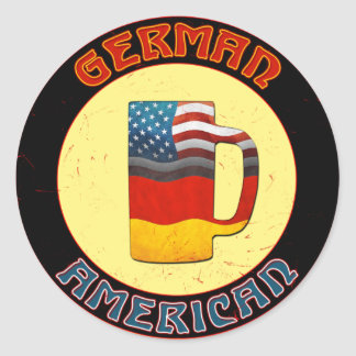 German American Stein Stickers
