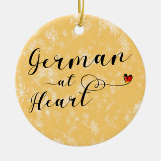 German At Heart Holiday Decoration