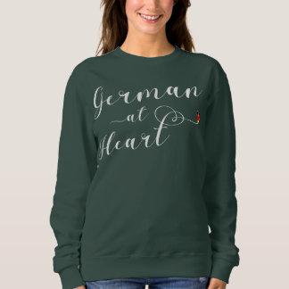 German At Heart Sweatshirt, Germany Sweatshirt