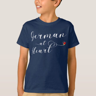 German At Heart Tee Shirt, Germany