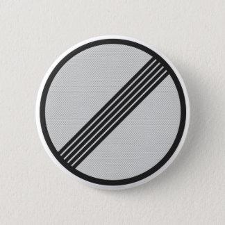 German Autobahn highway sign button