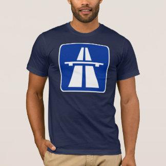 German Autobahn Road Sign T-Shirt