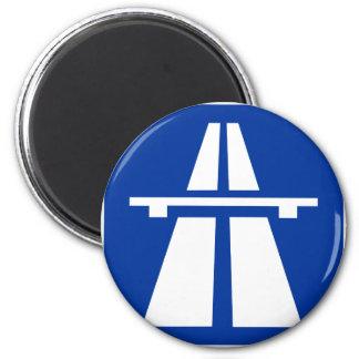 German Autobahn Sign Magnet