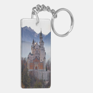 German Bavaria Castle Neuschwanstein Key Chain