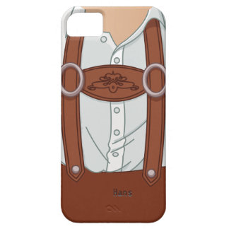 German Bavarian Lederhose Barely There iPhone 5 Case
