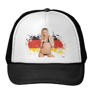 German Bikini girl Trucker Hat