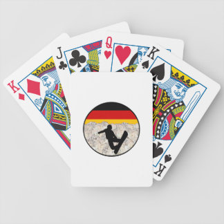 German Boarders Bicycle Playing Cards