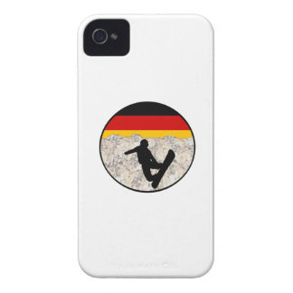 German Boarders Case-Mate iPhone 4 Case