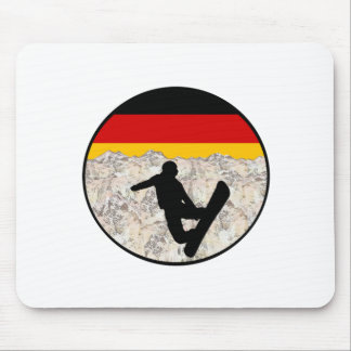 German Boarders Mouse Pad