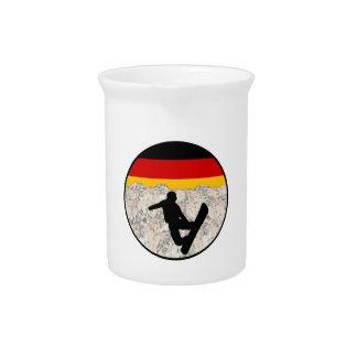 German Boarders Pitcher