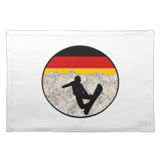 German Boarders Placemat