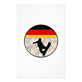 German Boarders Stationery