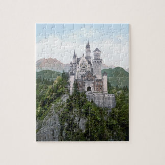 German Bvarian Castle Neuschwanstein Puzzle